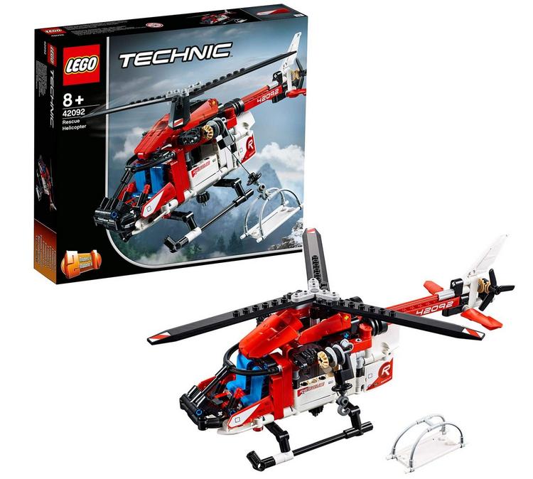 Code promo Amazon : Jeu de construction LEGO Technic L'hélicoptère de secours 325 Pièces 42092 à 20,90€