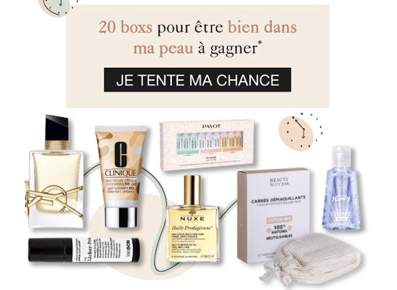 Code promo Beauty Success : 20 box de produits de beauté à gagner
