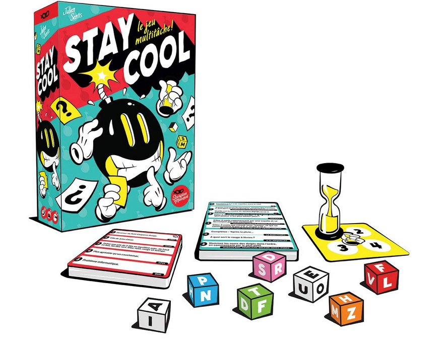 Code promo Amazon : Jeu de société Stay Cool Asmodee à 16,80€