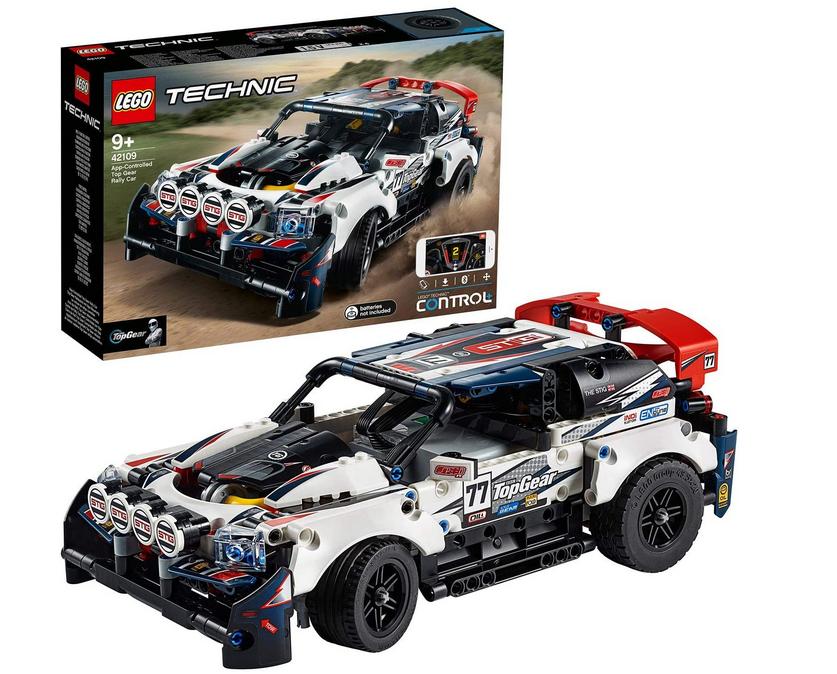 Code promo Amazon : LEGO Technic La voiture de rallye contrôlée CONTROL+ RC Racing Cars 115 pièces (42109) à 99,65€