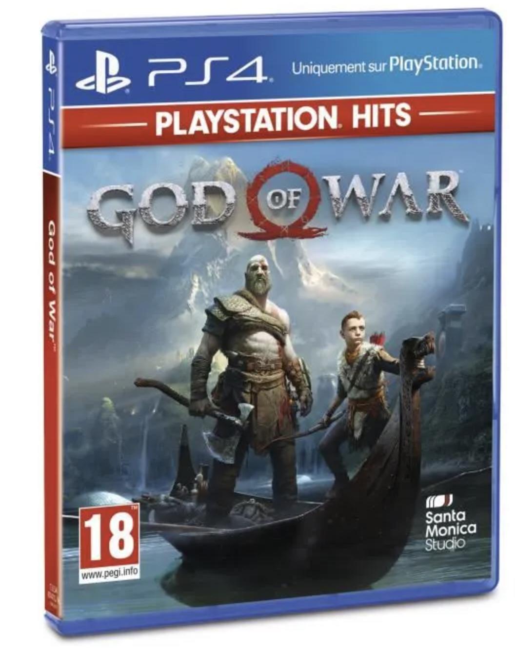 Code promo Cdiscount : God Of War sur PS4 en version Playstation Hits à 9,99€ au lieu de 19,99€