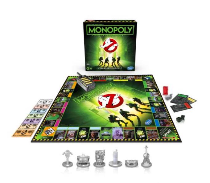 Code promo Fnac : Jeu de société Monopoly Ghostbusters en solde à 12,97€