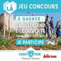 Code promo Petit Futé : 1 séjour de 3 jours pour 2 personnes à Caen incluant repas et activités à gagner