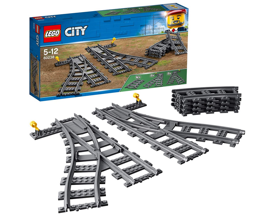 Code promo Amazon : LEGO City Aiguillages 60238 à 17,30€
