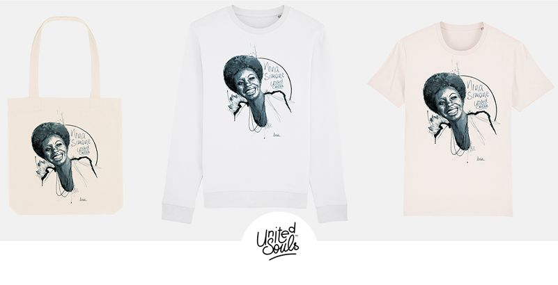 "Code promo Radio FIP : 1 sweat-shirt ""United Souls"", 1 t-shirt ""United Souls"" et 1 totes bag à gagner"