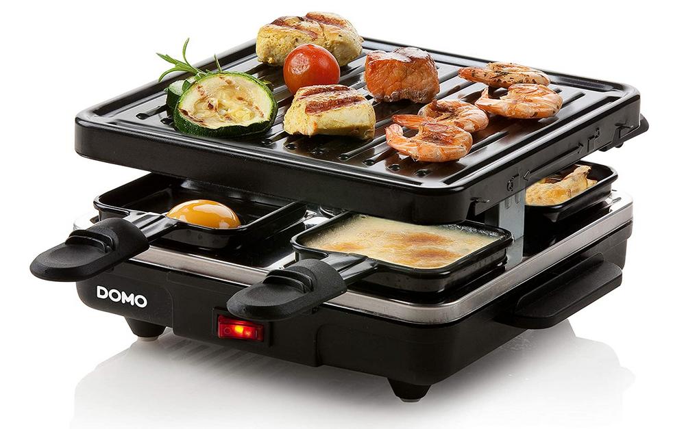 Code promo Amazon : Raclette Grille Domo à 17,99€