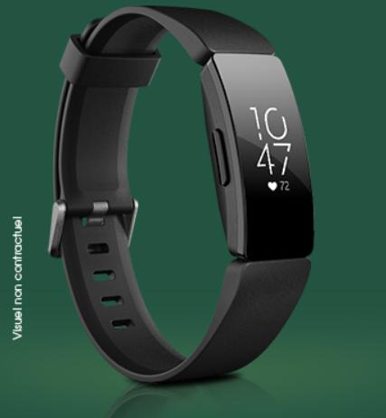Code promo St-Hubert : 10 bracelets d'activité Fitbit à gagner