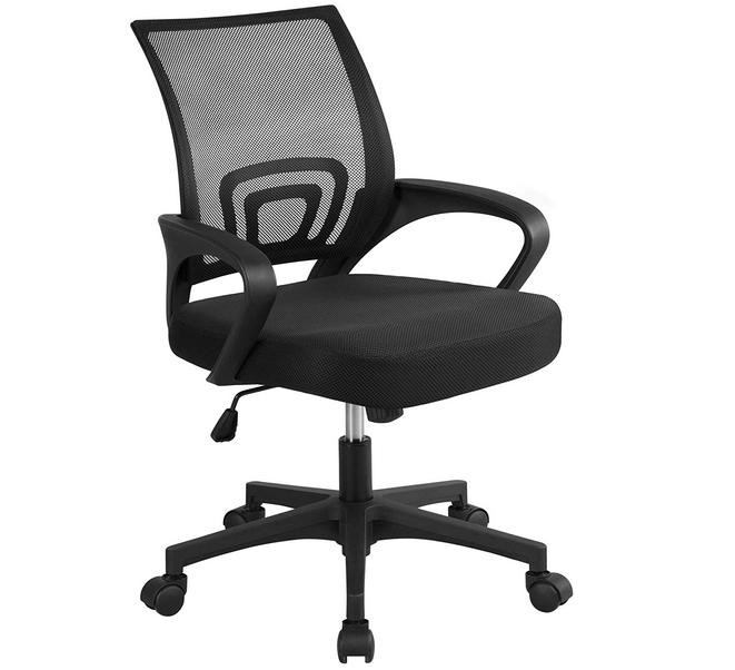 Code promo Amazon : Chaise de bureau à roulettes Yaheetech à 59,95€