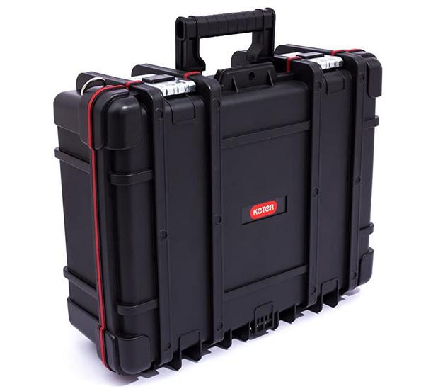 Code promo Amazon : Boite à outils KETER Mallette de Technicien avec compartiments mobiles à 43,89€