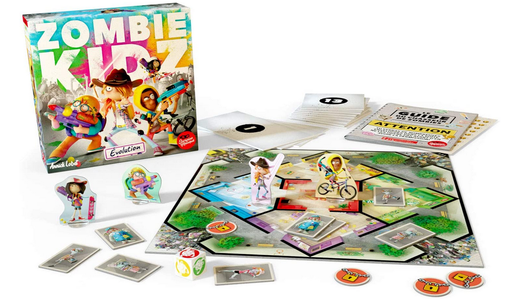 Code promo Amazon : Jeu de société Asmodee Zombie Kidz à 18,65€