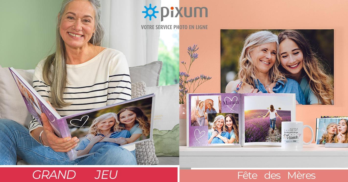 Code promo Femme Actuelle : 50 bons d'achat Pixum d'une valeur de 30€ à gagner