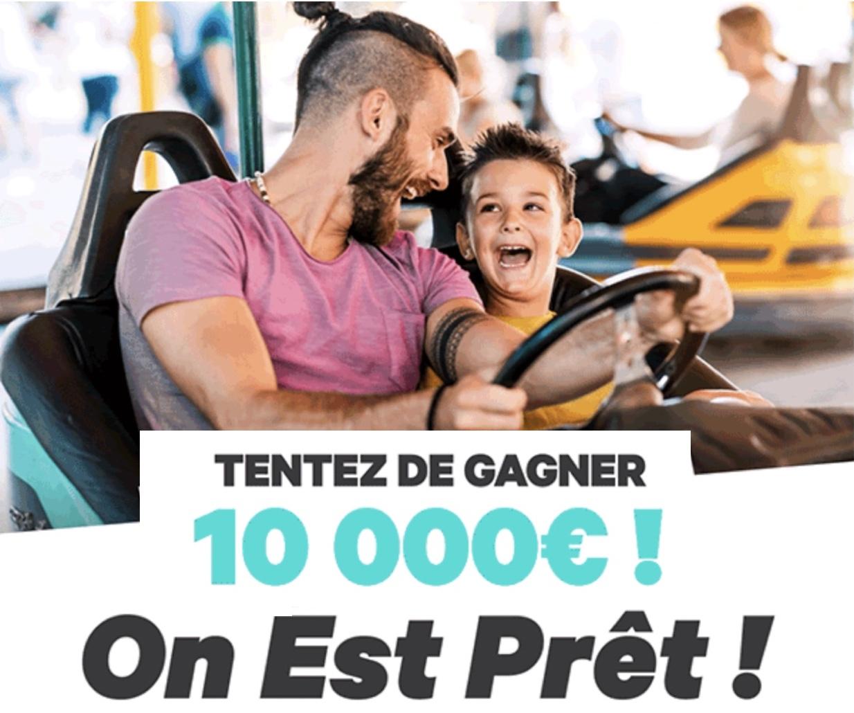 Code promo Groupon : 1 chèque de 10 000€ et 4 bons d'achat Groupon de 1000€ à gagner