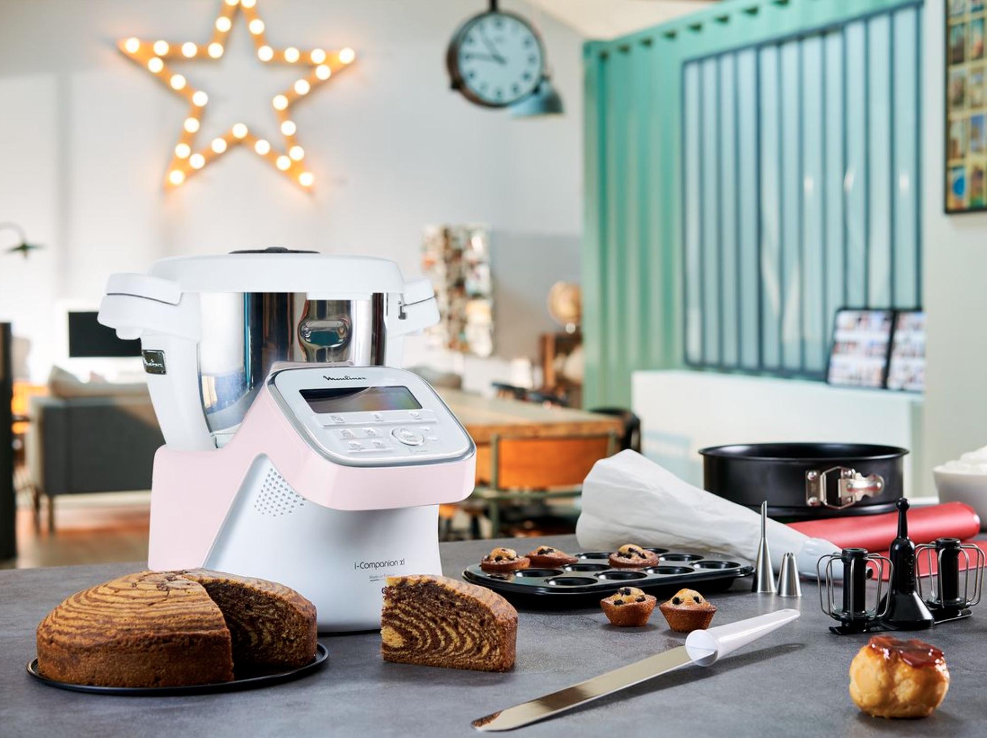 Code promo Moulinex : 3 robots de cuisine i-Companion XL Edition Pâtisserie à gagner