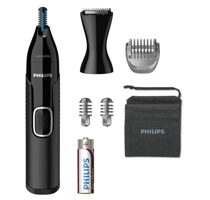 Code promo Amazon : Tondeuse Nez-Oreilles Philips NT5650/16 Series 5000 Étanche avec Tondeuse de Précision à 16,99€