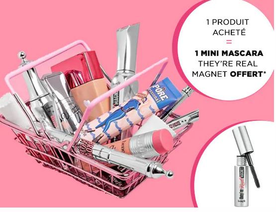 Code promo Sephora : Un mini mascara en cadeau