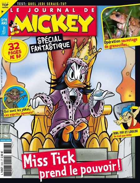 Code promo Kiosque FAE : Le journal de Mickey : abonnement de 7 mois (30 numéros) à 36,90€