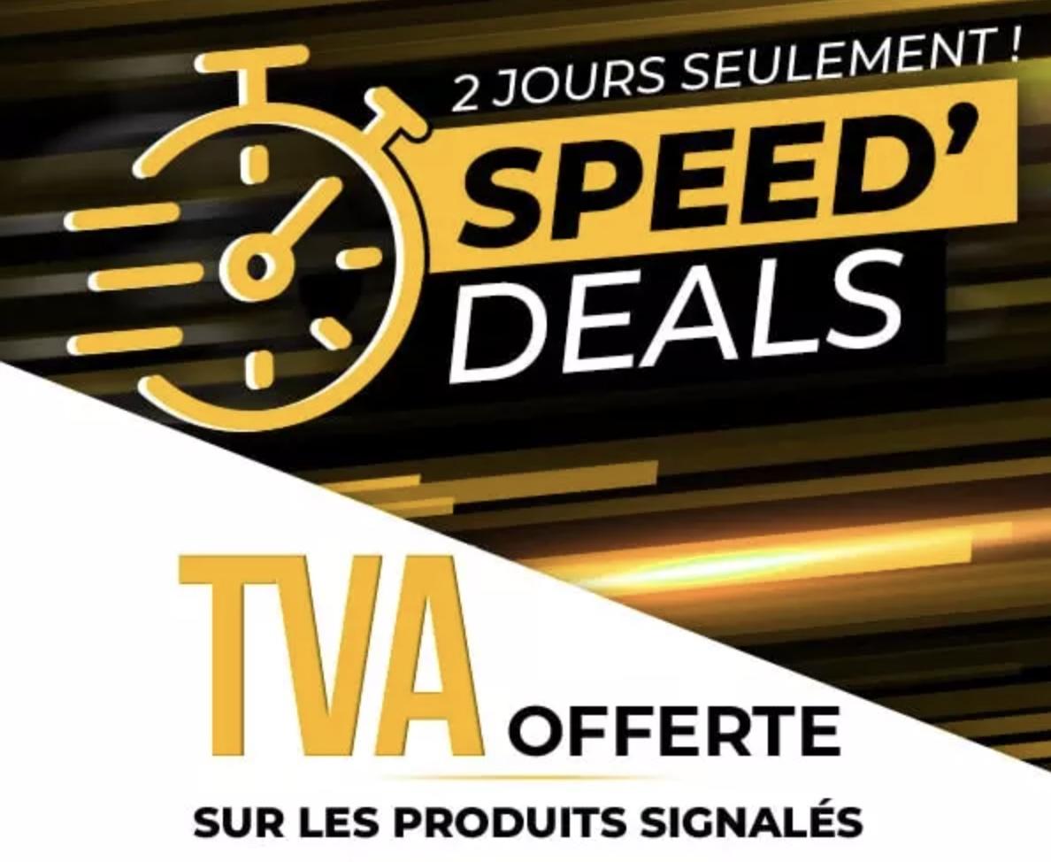 Code promo Speedway : TVA Offerte sur plus de 75 000 équipements de moto (casques, blousons, pantalons, gants...)