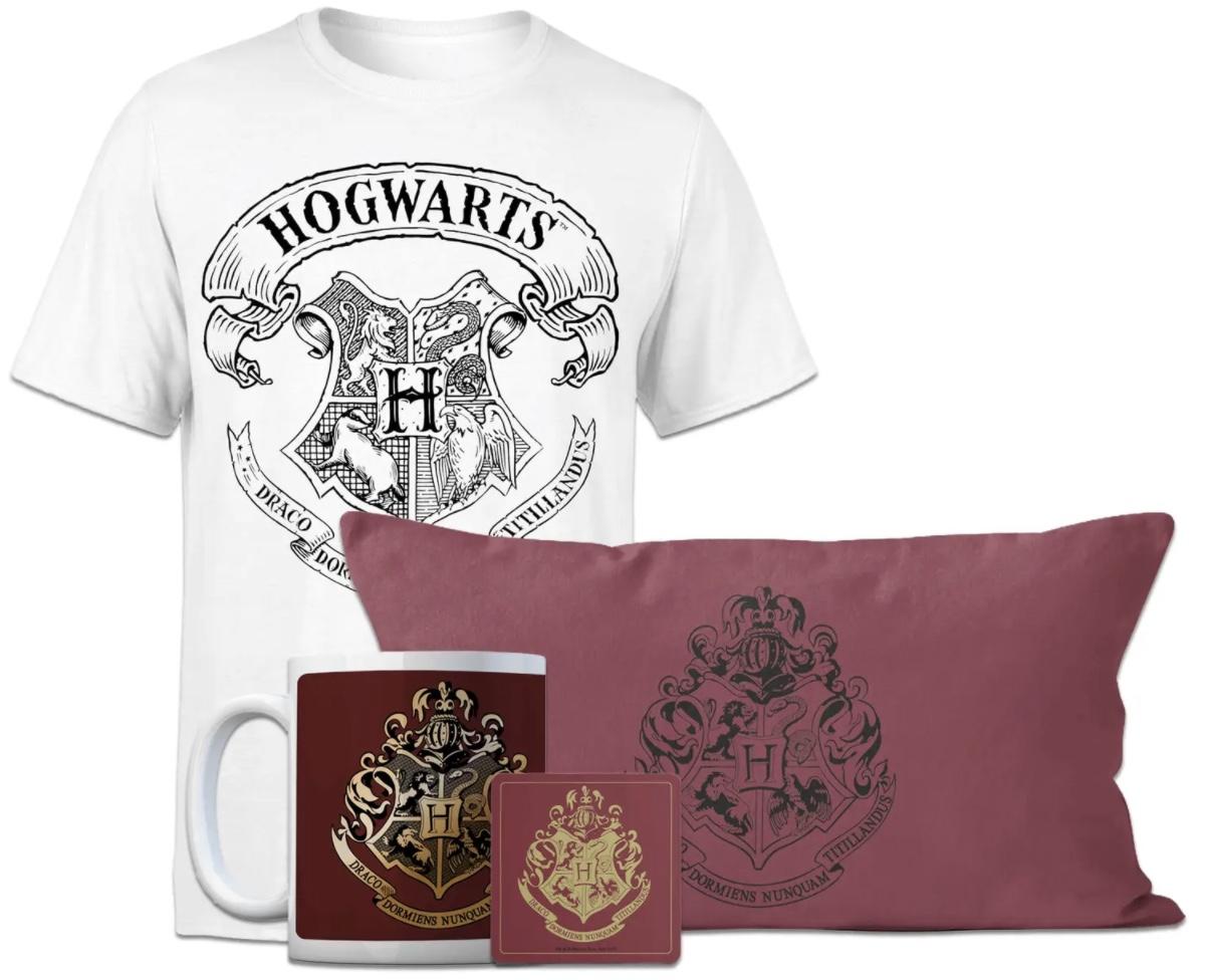 Code promo Zavvi : Méga Lot officiel Harry Potter (t-shirt + coussin + tasse) à 20,99€