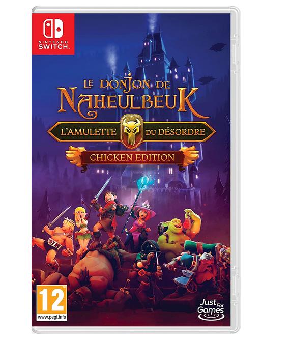 Code promo Amazon : Le Donjon de Naheulbeuk L'Amulette du Désordre - Chicken Edition sur Switch à 39,99€