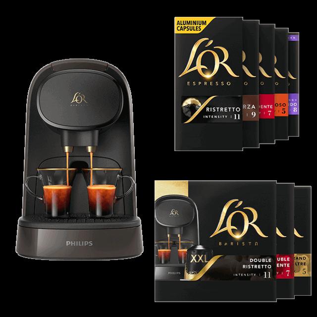 Code promo L'Or Espresso : 150 capsules de café achetées = une machine à café L'Or Barista offerte