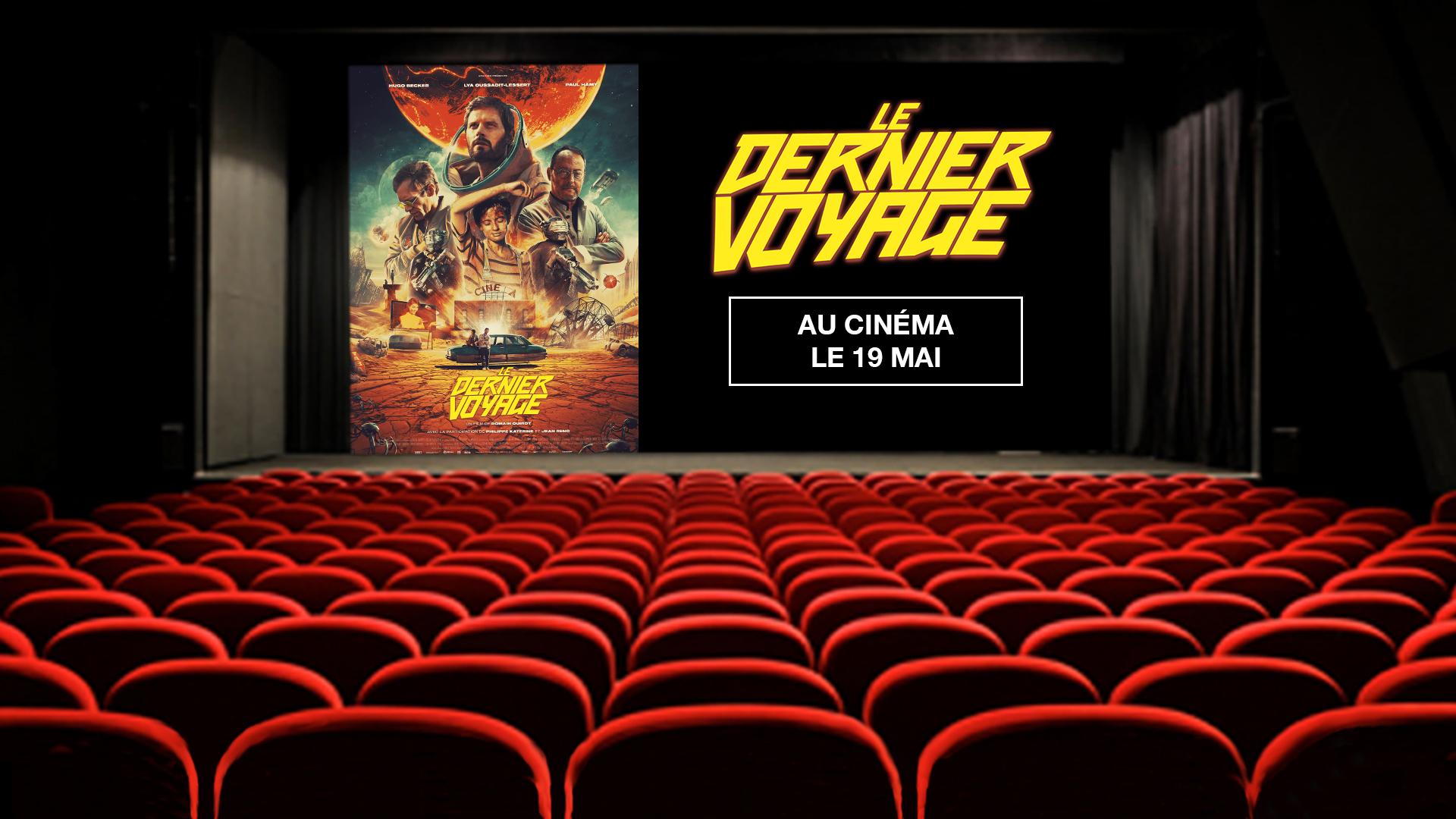 """Code promo OCS : 50 lots de 2 places de cinéma pour le film """"Le Dernier Voyage"""" à gagner"""