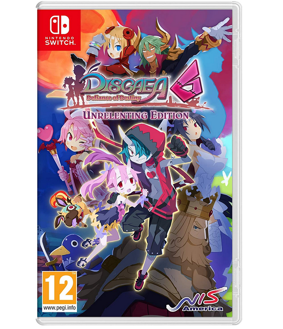 Code promo Amazon : [Précommande]  Disgaea 6: Defiance Of Destiny sur Nintendo Switch à 44,99€