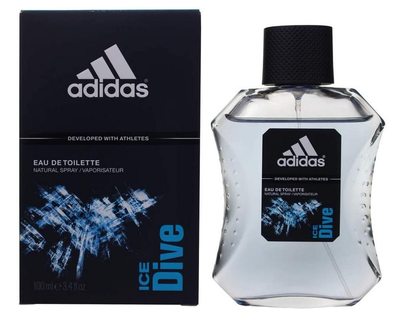Code promo Amazon : Eau de toilette Adidas Ice Dive pour homme, 100ml à 6,25€