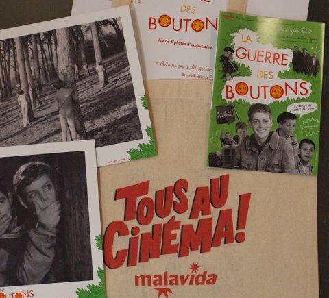 Code promo Paris Mômes : 1 lot comportant 1 tote bag + 5 photos tirées d'un film au choix parmi une sélection à gagner