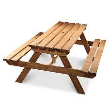 Code promo Castorama : Table de pique-nique en bois Agad à 69€
