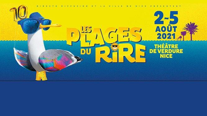 """Code promo Rire et chansons : Des invitations pour les spectacles du festival """"Les Plages du rire"""" à gagner"""