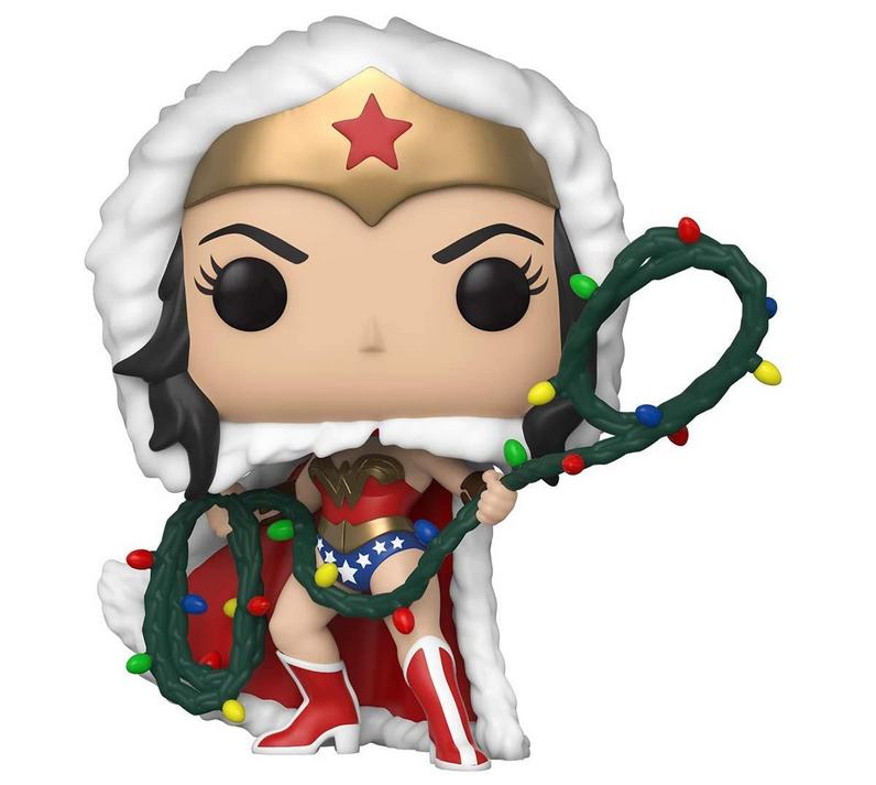 Code promo Amazon : Figurine Funko Pop Heroes DC Holiday - Wonder Woman w/Lights Lasso à 6€