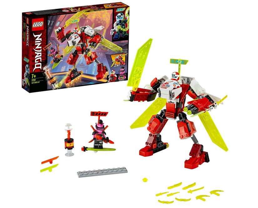 Code promo Amazon : LEGO Ninjago L'Avion-Robot de Kai - 71707 à 11,15€