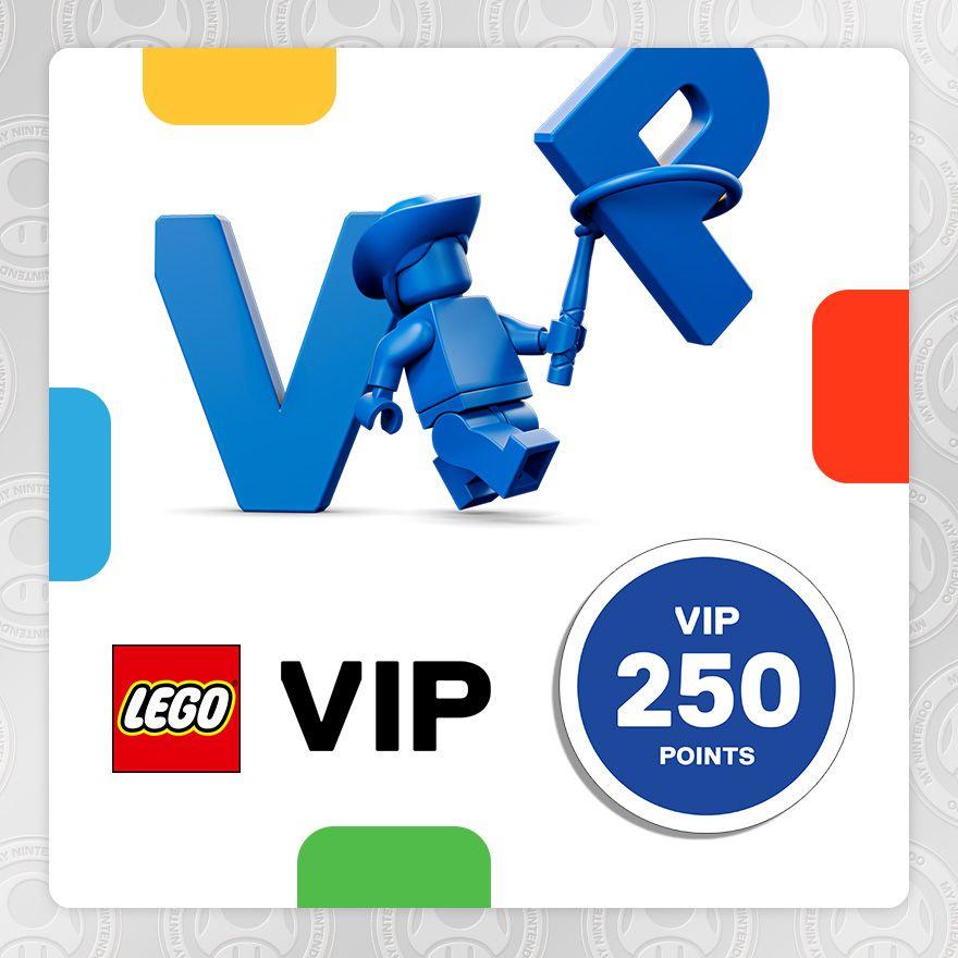 Code promo LEGO : 250 points LEGO VIP offerts pour les membres My Nintendo