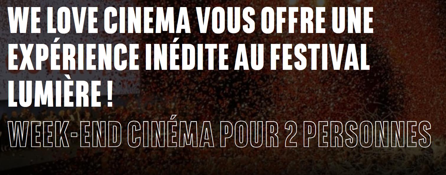 Code promo BNP Paribas : 1 séjour pour 2 personnes à Lyon pour assister au Festival Lumière à gagner